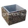 Столбовой блок бетонный